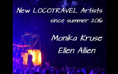 New LOCOTRAVEL artists since summer 2016 – Monika Kruse & Ellen Allien