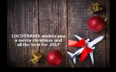 LOCOTRAVEL wishes Merry Christmas and a Happy New Year 2017